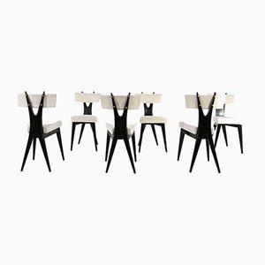 Vintage Dining Chairs by Gianni Vigorelli, Set of 6