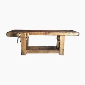 Tavolo da lavoro grande industriale, Francia, fine XIX secolo