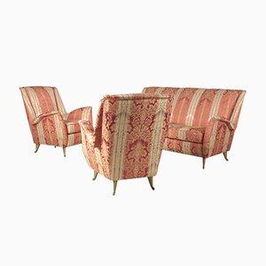 Italian Living Room Set from I.S.A., 1950s