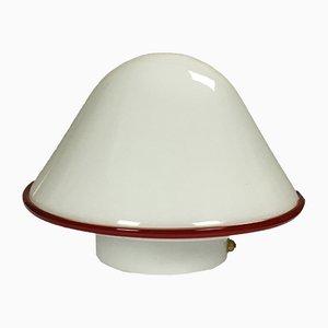 Lampe de Bureau en Verre Murano de De Majo, 1970s