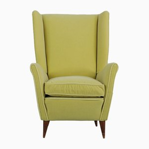 Italian Wing Chair from ISA Bergamo, 1950s