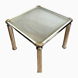 Mid-Century French Brass Table, 1960s