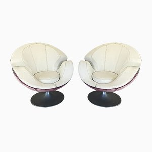 Model Calla Swivel Chairs from VG Newtrend, 1990, Set of 2