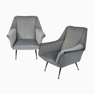 Armchairs by Gio Ponti, 1948, Set of 2