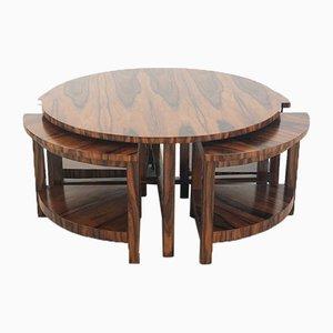 Tavolini a incastro di Pierre Chareau, Francia, anni '30