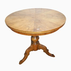 Louis Philippe Walnut & Oak Table, 1850s