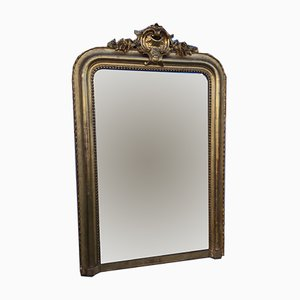 Antique Louis-Philippe Gold Leaf Mirror