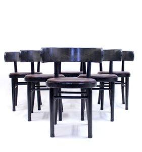 Stühle von Werner West für Wilhelm Schauman, 1940er, 6er Set