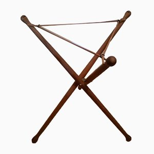 Teak Tripod Side Table by Nils Trautner for Ary Nybro, 1950s