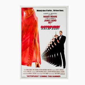 Poster vintage del film Octopussy, 1983