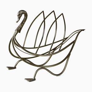 Porte-Revues Swan de Maison Jansen, 1960s