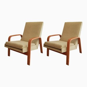 Lounge Chairs by ARP for Steiner, 1950s, Set of 2