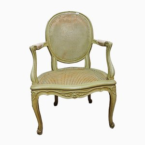 Louis XV Chair with Braid, 1920s, Set of 4