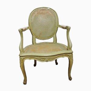 Sedie Luigi XV intrecciate, anni '20, set di 4
