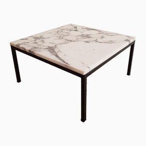 Tavolino da caffè quadrato di Florence Knoll Bassett per Knoll, Danimarca, anni '60