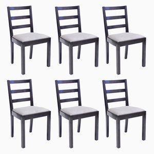 Typenko Chairs by Axel Einar Hjorth for Nordiska Kompaniet, 1930s, Set of 6