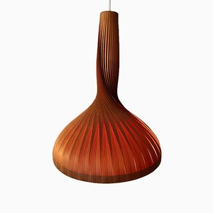Lamellenlampe von Hans-Agne Jakobsson für Ellysett, 1960er