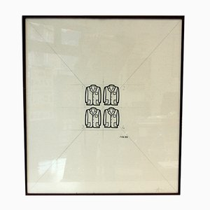 Le Giacche Series A Print by Tino Stefanoni, 1972