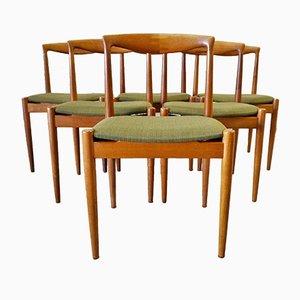Mid-Century Stühle von Arne Vodder für Vamø, 6er Set