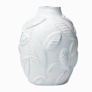 Vase mit Blättern von Anna-Lisa Thomson für Upsala Ekeby, 1940er
