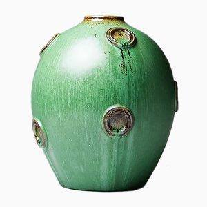 Skandinavische Vase von Jerk Werkmeister für Nittsjö, 1940er