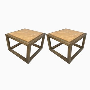 Side Tables, 1980s, Set of 2
