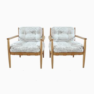 Lounge Chairs by Eric Merthen for Ire Mobler, 1964, Set of 2
