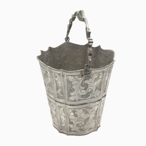 Pewter Ice Bucket from Cobra, 1940s