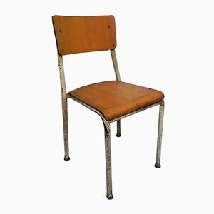 Mid-Century Industrial Stacking Chair