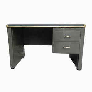 Vintage Steel Writing Desk from Sclessin