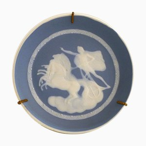 Limoges Porcelain Dish by Camille Tharaud, 1940s