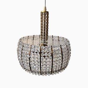 Lámpara colgante de Emil Stejnar para Rupert Nikoll, años 50
