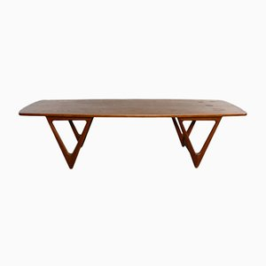 Large Coffee Table by Østervig for Jason Møbler