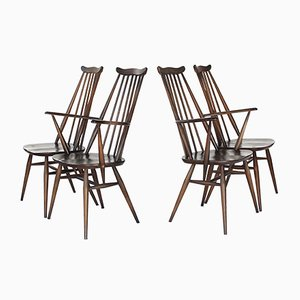 Mid-Century Goldsmith's Windsor Model 369 & 369A Dining Chairs from Ercol, Set of 4