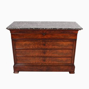 Antique French Marble Top Secretaire