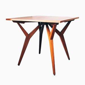 Scandinavian Panga Panga Wood Dining Table, 1950s