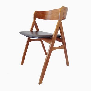 Danish Teak Side Chair, 1970s