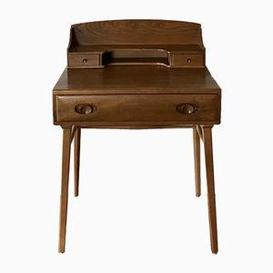 Schreibtisch aus Buche & Ulme von Lucian Ercolani für Ercol, 1960er