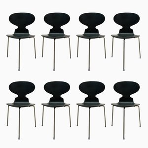 Vintage Ant Chairs by Arne Jacobsen for Fritz Hansen, Set of 8