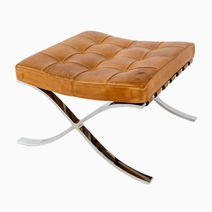 Barcelona Footstool by Ludwig Mies van der Rohe for De Coene, 1950s