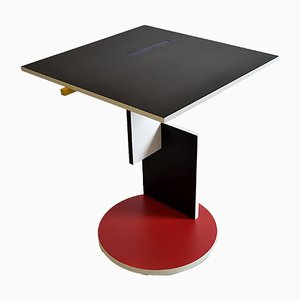 Side Table by Gerrit Rietveld for Cassina, 1990