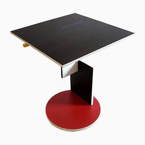 Table d'Appoint par Gerrit Rietveld pour Cassina, 1990s