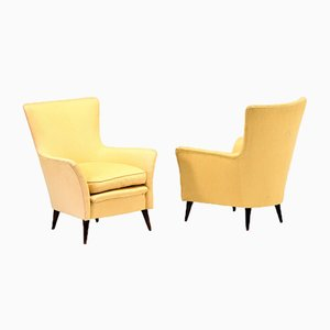 Le Navi Armchairs by Gio Ponti, 1950s, Set of 2