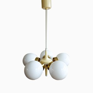 Vintage Czechoslovakian Sputnik Ceiling Lamp from Elektroinstala, 1960s