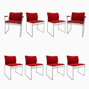 Vintage Dining Chairs by Kazuhide Takahama for Studio Simon, Set of 8