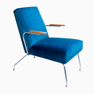 Polish Bauhaus Armchair from Wschód Steel Furniture Factory, 1950s
