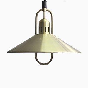 Lámpara colgante danesa Mid-Century, años 70