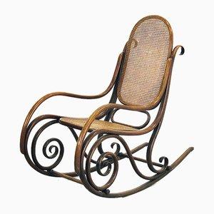 Sedia a dondolo nr. 1 di Thonet, inizio XX secolo