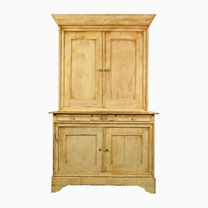 Large 19th Century French Kitchen Cabinet, 1890s