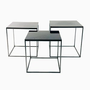 PK71 Nesting Tables by Poul Kjaerholm for Fritz Hansen, 1950s